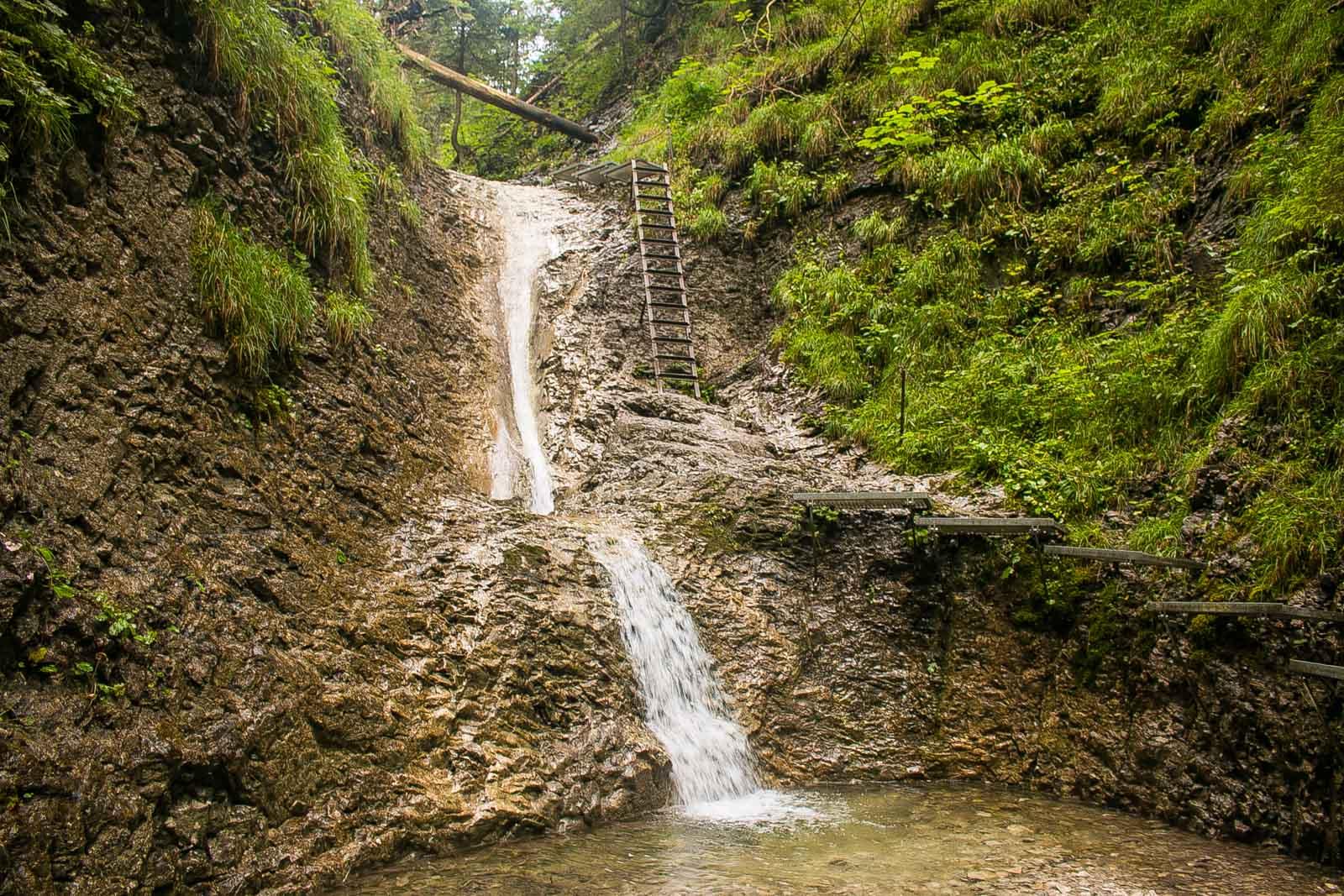 Slovensky Raj Wanderwege Leitern