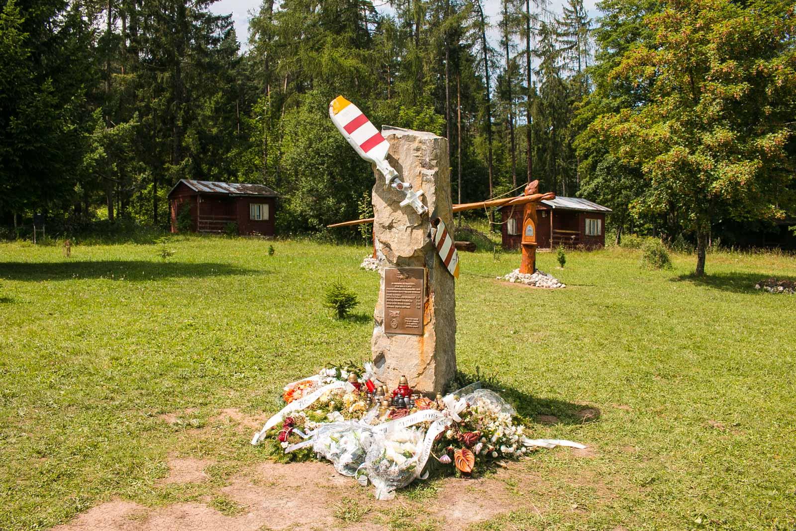 Symbolischer Friedhof Slovensky Raj