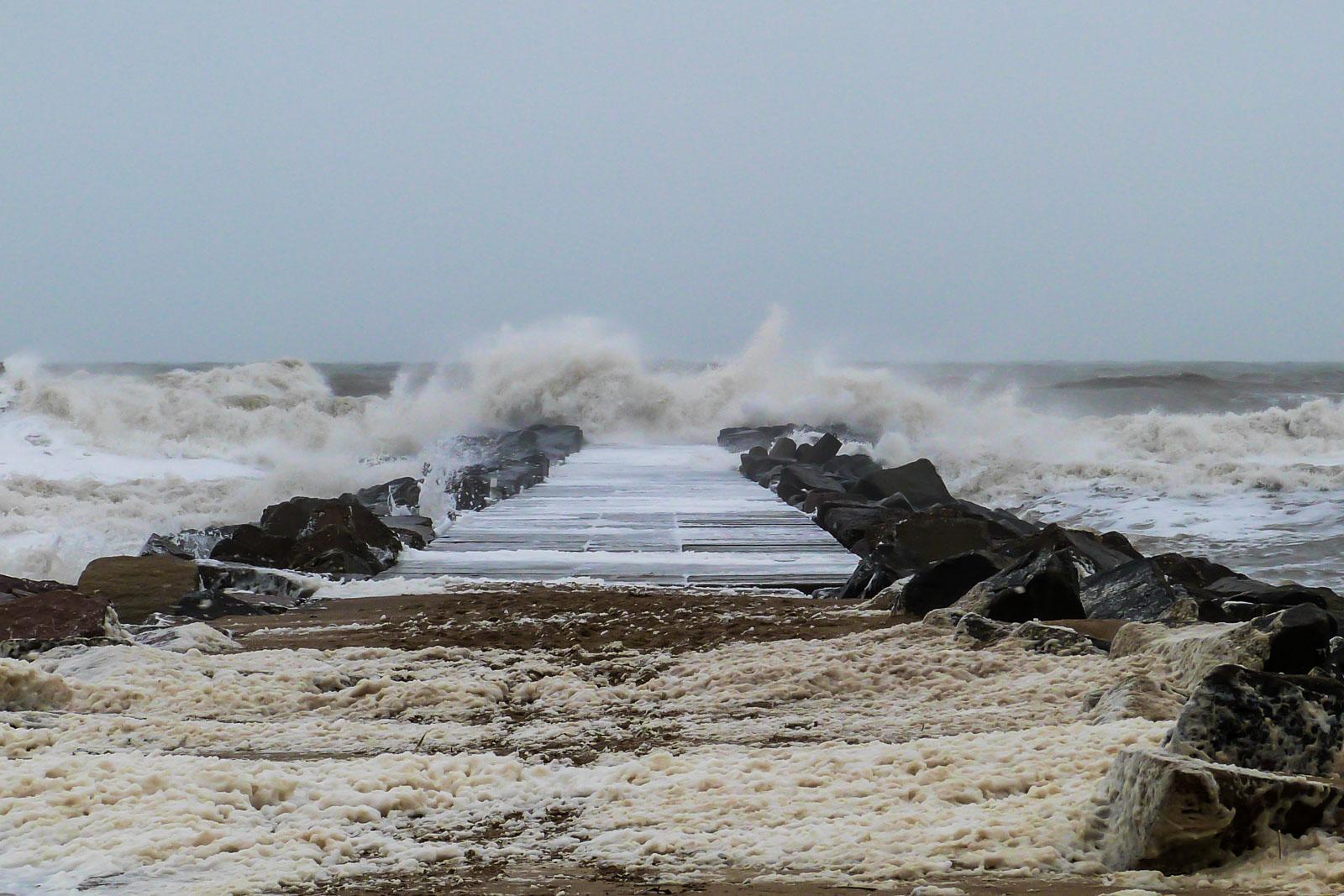 Wellen Nordsee Dänemark