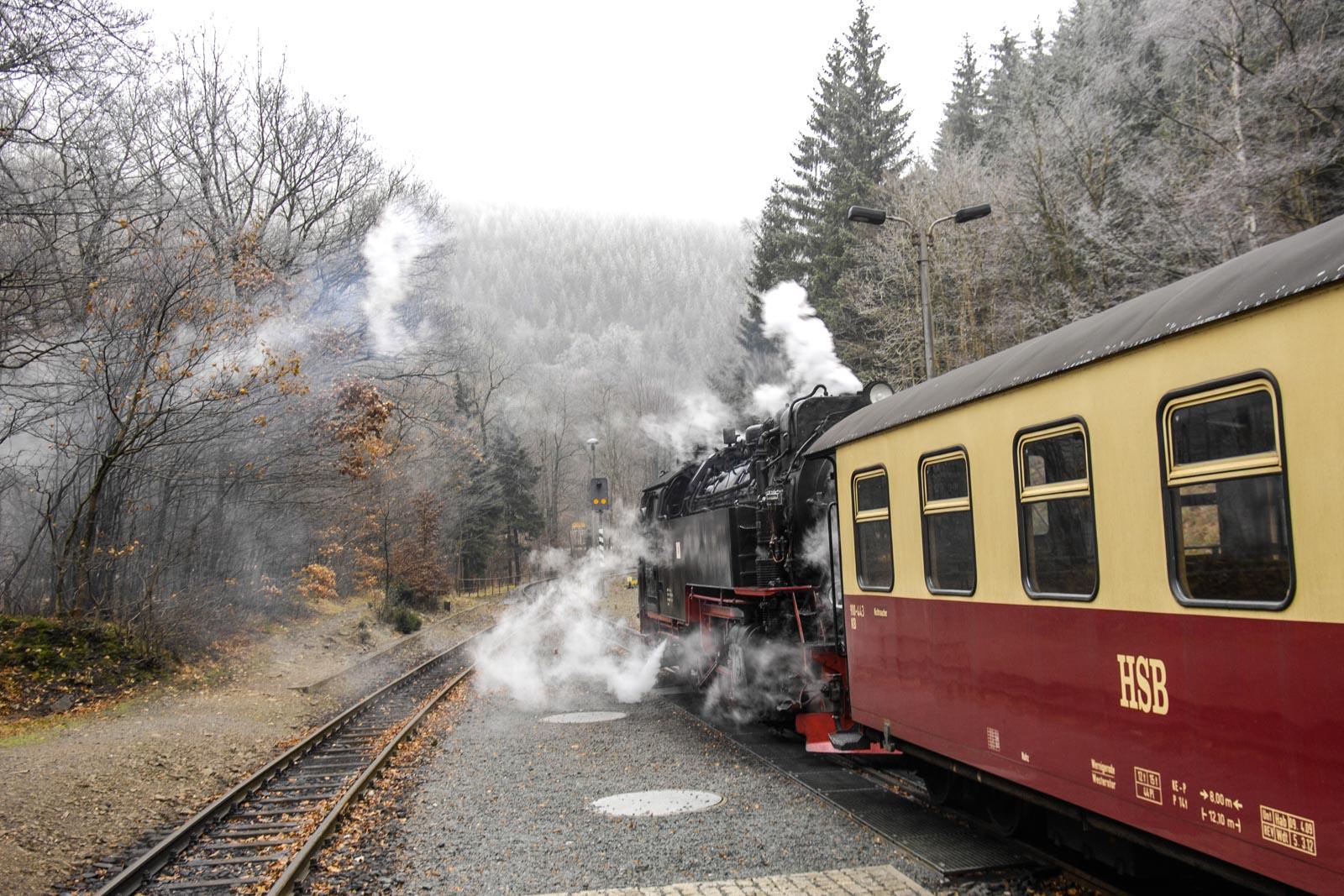 Harzer Schmalspurbahn Advent in den Höfen