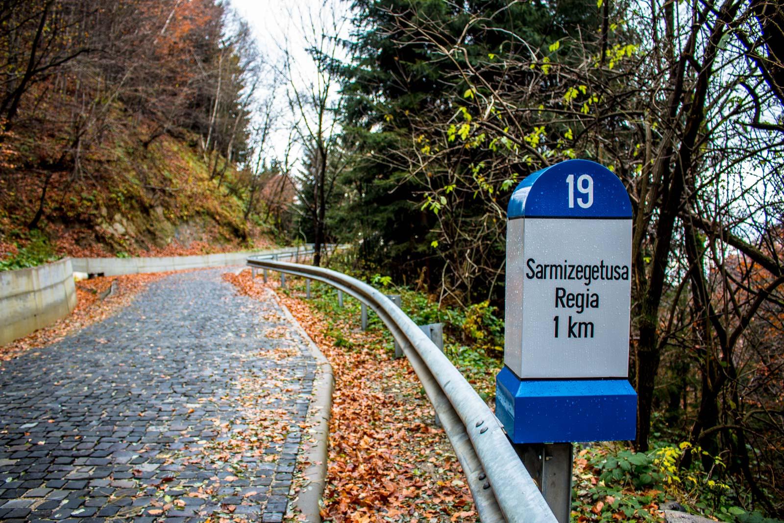 Rumänisches Stonehenge Sarmizegetusa Regia Anfahrt