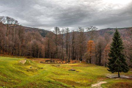 Rumänisches Stonehenge Sarmizegetusa Regia