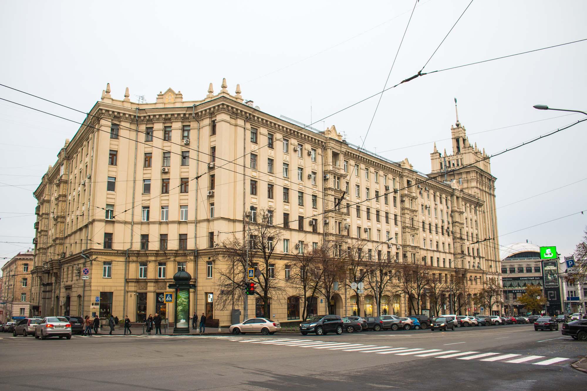 Sowjetisches Haus Charkiw